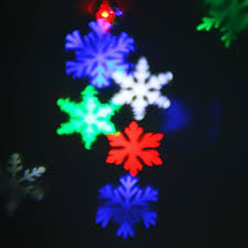Outdoor Christmas Light Projector by Christmas Snowflakes Led Stage Lights Holiday White Snow Sparkling