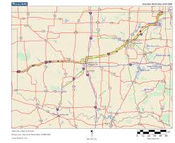 Map Routing by Oklahoma Highways Us Route 66 In Oklahoma