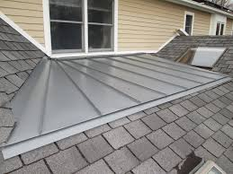 metal porch roof pitch