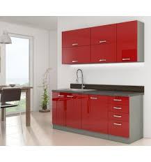 cuisine bailleul cuisine complète rojo 180 cm le dépôt bailleul