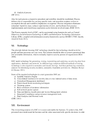 Resume For Security Job by Best Practices For Security Operations Center