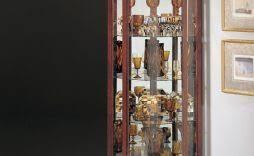 Modern Corner Curio Cabinet Improve Style With Contemporary Curio Cabinet Newgomemphis
