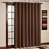 amazon com brown draperies u0026 curtains window treatments home