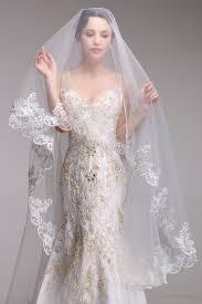 italian wedding dresses lace bridal veils designs 2017 for wedding day