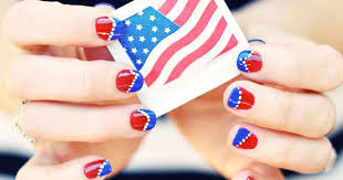 4th of july nail designs blupla