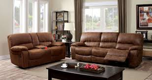 Reclining Sofas Canada by Wagner Reclining Sofa Cm6315 In Brown Leatherette W Options