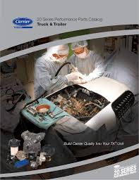 the carrier 20 series catalog