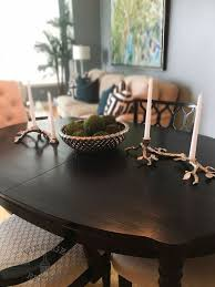 Dining Room Update Painting Dining Table  Chairs Hometalk - Painting dining room