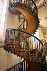 stair great picture of wooden freestanding spiral staircase along
