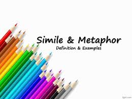 simile and metaphor with detailed explanation youtube