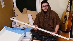 Ikea Furniture Meme - roommates forced to build ikea furniture at 3am youtube