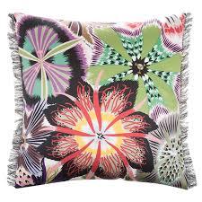 buy missoni home passiflora cushion t59 40x40cm amara