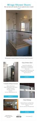 Mirage Shower Doors Mirage Shower Doors We Can Basically Handle All Your Glass