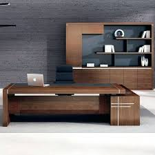 Veneer Desk Desk White Office Desk With Wood Top Executive Wood Veneer Wood