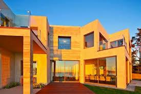 stunning and luxury beach house design in malibu birdview