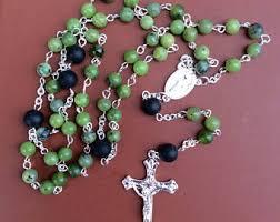 connemara marble rosary marble rosary etsy