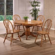 eci furniture 2150 missouri round single pedestal dining table