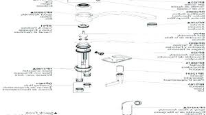kohler kitchen faucet parts kohler kitchen faucet parts list bathroom faucet parts with
