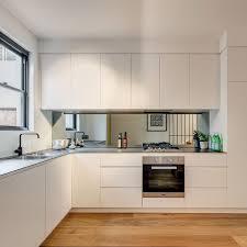 Mirrored Backsplash In Kitchen Best 25 Mirror Splashback Ideas Only On Pinterest Kitchen Mirrored