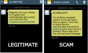 Text Message 2014 - 5 signs a text message is a scam inquirer technology