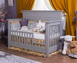 Toddler Rail For Convertible Crib Romina Karisma Solid Panel Convertible Crib N Cribs