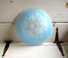 Vintage Ceiling Light Covers 1950s Etsy Vintage Glass Ceiling Light Cover By Twiggysattic