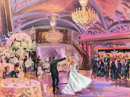 wedding re live painting is the new wedding reception trend you re going to