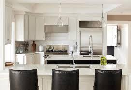 White Cabinets Granite Countertops Kitchen White Kitchen Design