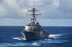 Us Flagged Merchant Ships Us Warship Starts To Sink Off Coast Of Japan After Colliding With