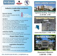 Agenda Meeting Pdf Lockheed Martin by Rsvp For The Nevada Aviation Aerospace Airports Day At The Capitol