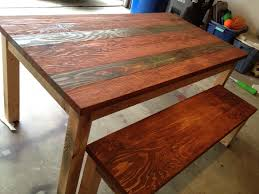 Cool Wood Furniture Ideas Reclaimed Wood Table Reclaimed Wood Table Top Salvaged Oak Beam