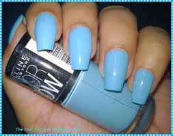 maybelline color show blue berry ice review nail art and beauty