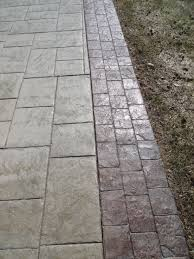 Flagstone Stamped Concrete Pictures by Decorative Colored Stamped Concrete Milwaukee Waukesha Wi