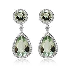 green amethyst earrings amethyst earrings from encore dt
