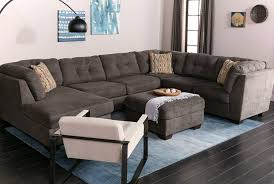 Oversized Loveseat With Ottoman Delta City Steel Oversized Accent Ottoman Living Spaces