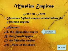 Ottoman Empire Facts Muslim Empires This Arabic Symbol Translates To The Shining Sun