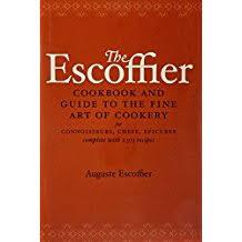livre de cuisine fran軋ise en anglais amazon fr cuisine française auguste escoffier livres anglais