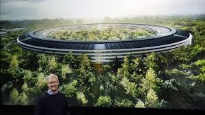 apple u0027s new 5 billion apple park campus has a 100 000 square foot