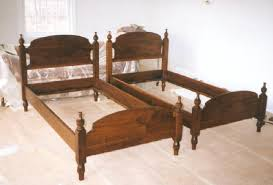 Custom Bed Headboards Wonderful Custom Beds With Regard To Wood Twin Bed Popular Awesome