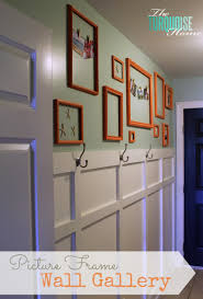 painted picture frame gallery wall the turquoise home