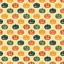 background halloween repeating ghosts halloween seamless background with pumpkin retro pattern u2014 stock