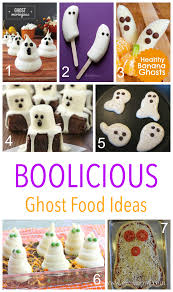 boolicious spooky food ideas for kids on halloween including
