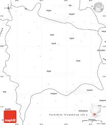 Blank Map Of The World by Blank Simple Map Of Ranchi