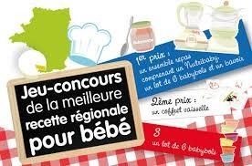 concours cuisine jeu concours de la meilleure recette régionale pour bébé cuisine