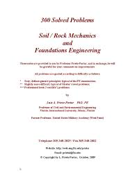 300 solved problems in geotechnical engineering deep foundation