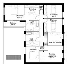 plan chambre a coucher de maison 250 m