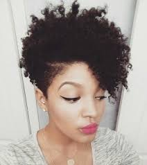 black natural hair with shafed sides find this pin and more on for the au naturel hair junkie