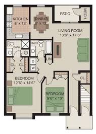 severgn apartments saxony floor plan 1 bed 1 bath 850 sq ft