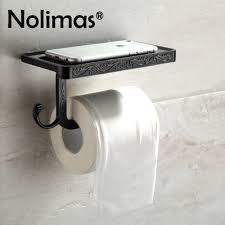 Toilet Paper Rack Online Get Cheap Black Toilet Paper Holder Aliexpress Com