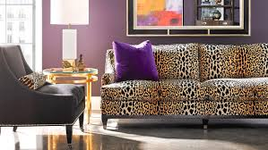 Hickory White Sofa Seeing Spots Leopard Prints Leap Back Into Home Decor Duluth
